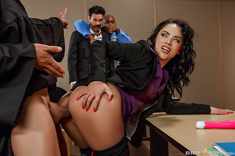 Big Butts Like It Big – Judge, Jury, And Double Penetrator – Kristina Rose, Charles Dera & Ramon