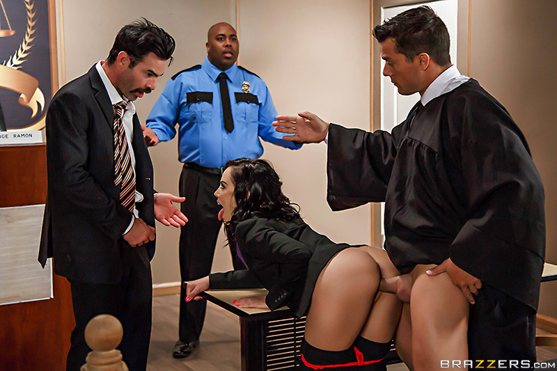 Judge, Jury, And Double Penetrator - Kristina Rose, Charles Dera & Ramon