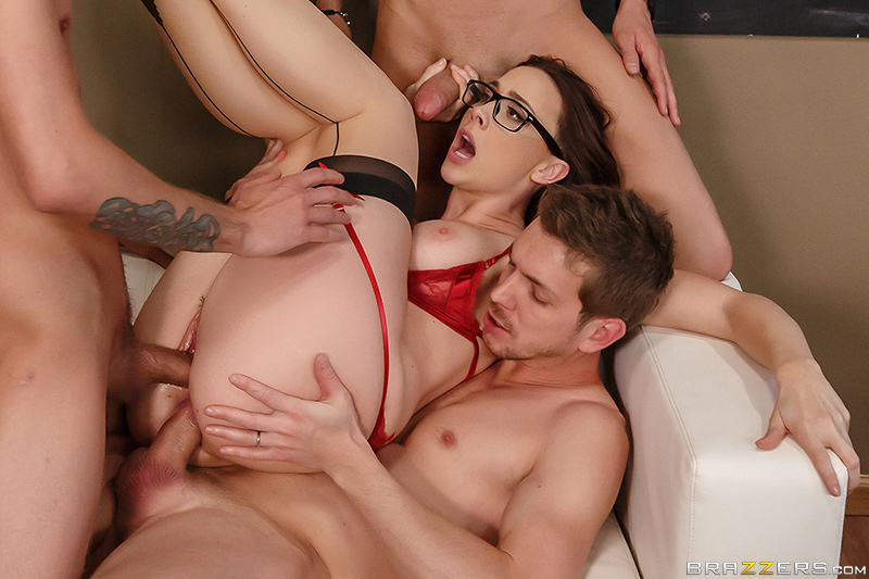 Free-For-All Fuck Lessons - Xander Corvus, Chanel Preston, Markus Dupree & Dylan Snow
