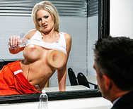 Busty prisoner zoey holiday anal pounded 5