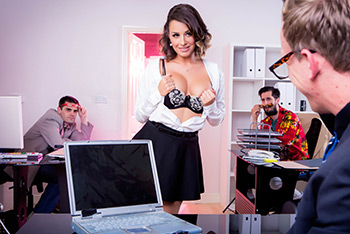 Big Tits At Work Scenes 54