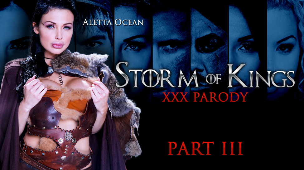 Brazzers  Aletta Ocean and Marc Rose  Storm Of Kings