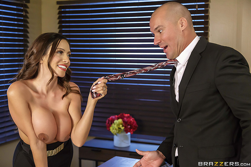 Big Tits At Work – Fellatio From The She-E-O – Ariella Ferrera & Sean Lawless