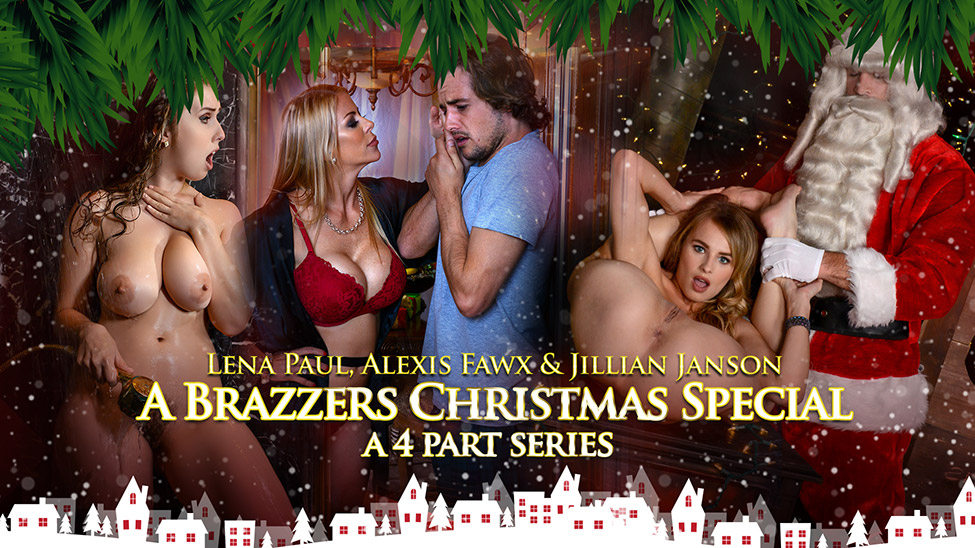 A Brazzers Christmas Special - Exclusive ZZ Series - Brazzers