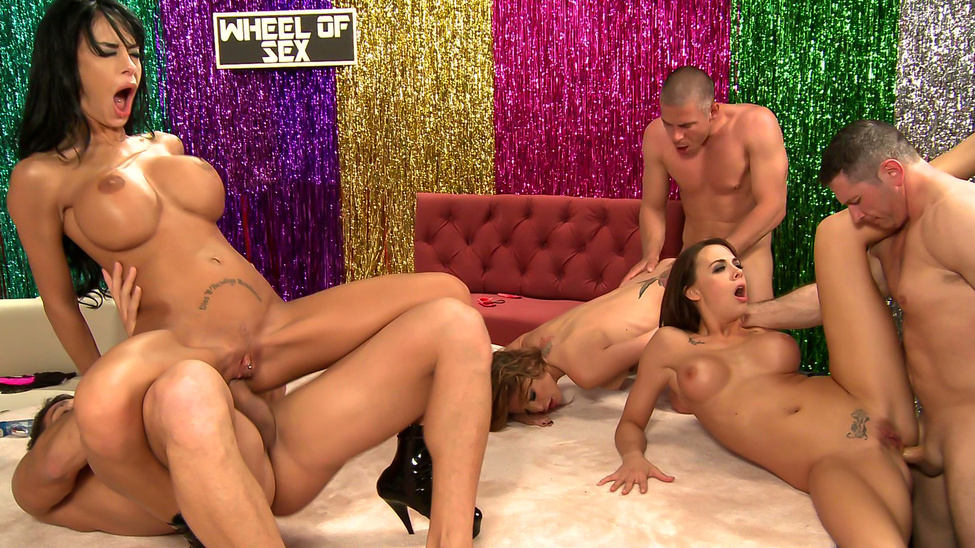 BRAZZERS LIVE 12: WHEEL OF SEX